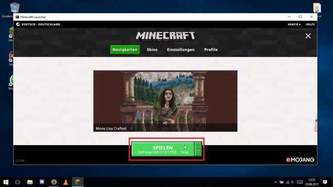 CCBlueX - Minecraft mods spielen wie